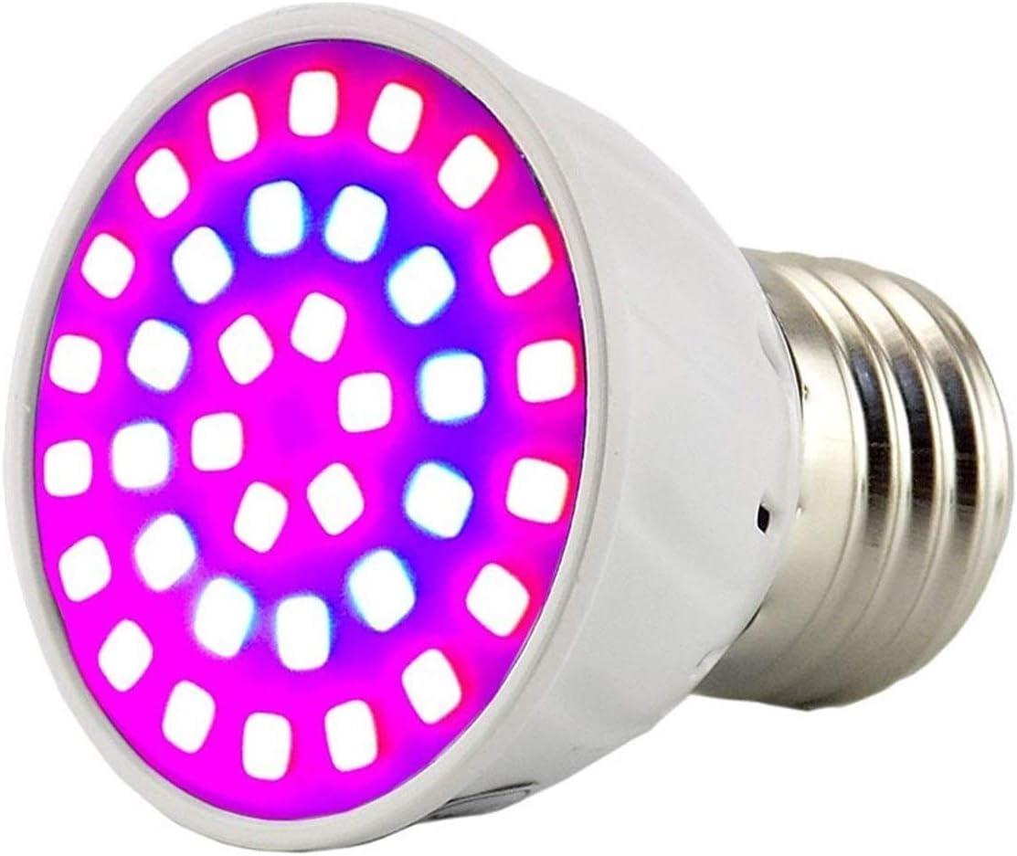 E27 36W Vollspektrum Pflanzenlampe Grow Light Lamp 72LED AC 220V Set♥