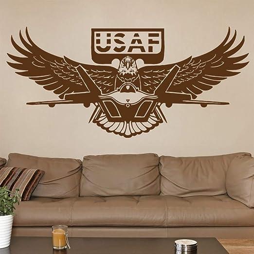 Etiqueta De La Pared Pegatina De Pared Frases Us Army Eagle
