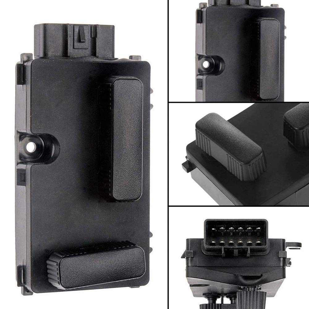2000-2006 GMC Sierra Yukon 12450254 Passenger Side 8 Way Power Seat Switch Adjust Recline Switch Fit for 2002-2006 Chevy Silverado Avalanche Suburban Tahoe 2002-2006 Cadillac