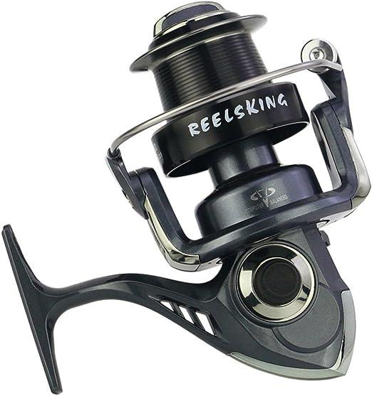 Carretes de pesca Spinning Fishing Reel 13 + 1 Rodamientos Manija ...