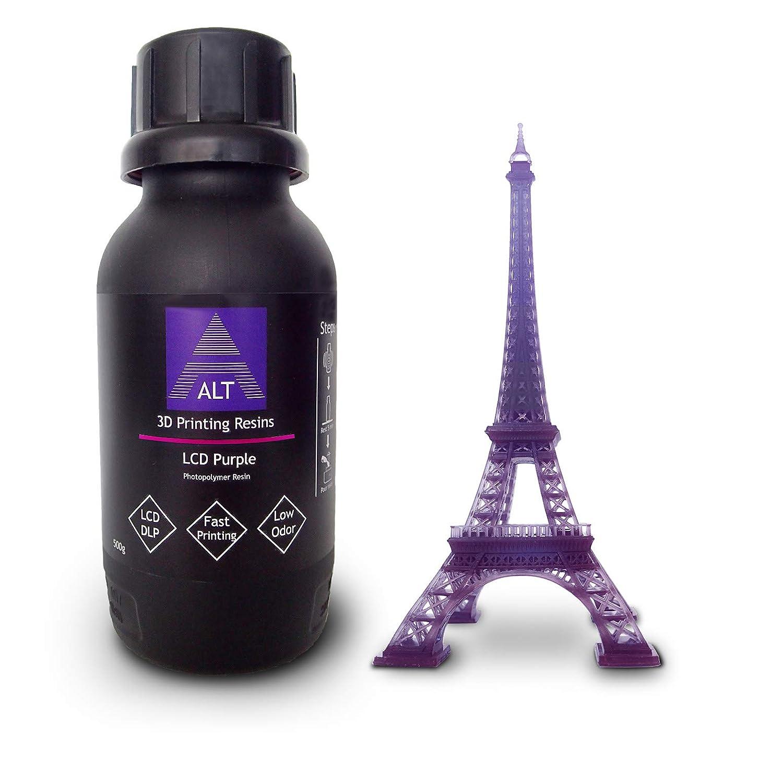 ALT 3D Printing Resins LCD Purple 500 gr: Amazon.es: Industria ...