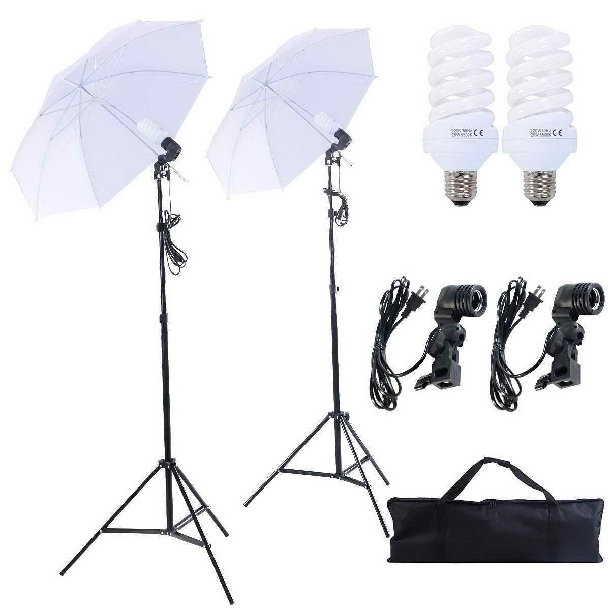Amazon.com : Safstar Photography and Video Day Light Umbrella ... for Umbrella Photography Lights  29dqh