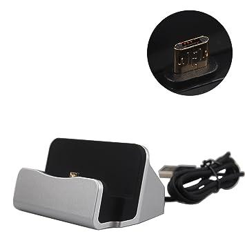 Boweike Micro USB Cargador de Escritorio Dock Station Adaptador para LG G3 …