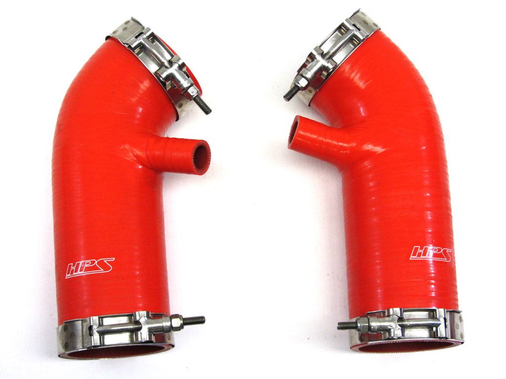 HPS 87-68426-RED-5 Red Silicone Air Intake Hose (Post MAF Tube) by HPS (Image #1)