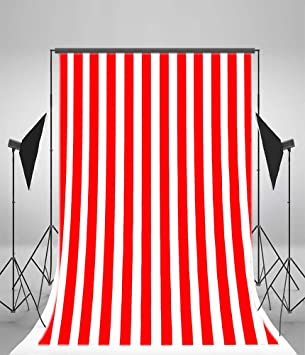 10x15ft Red and White Stripped Backdrop Baby Shower Photography Kids Adults Birthday Party Events Decoration Stripe Photo Back Drops Video Drape Wallpaper Photo Studio Props