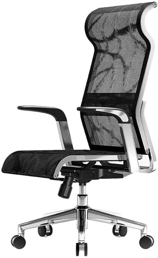 HDZWW Silla Silla de Ordenador ergonómico Inicio Jefe de Oficina Silla giratoria Silla de Malla Transpirable Gaming