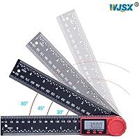 WJSX-Transportador de ángulos digital 2 en1función de cerrojo