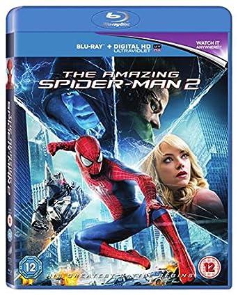 The Amazing Spider Man 2 Blu Ray 2014 Region Free Amazoncouk