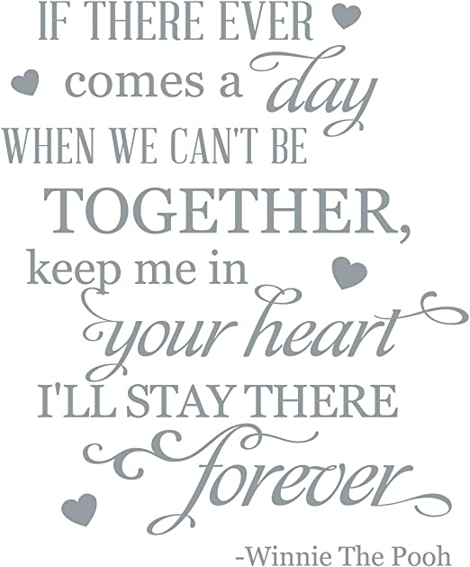 44 Colors Together Forever Vinyl Home Wall  Free /& Fast Shipping