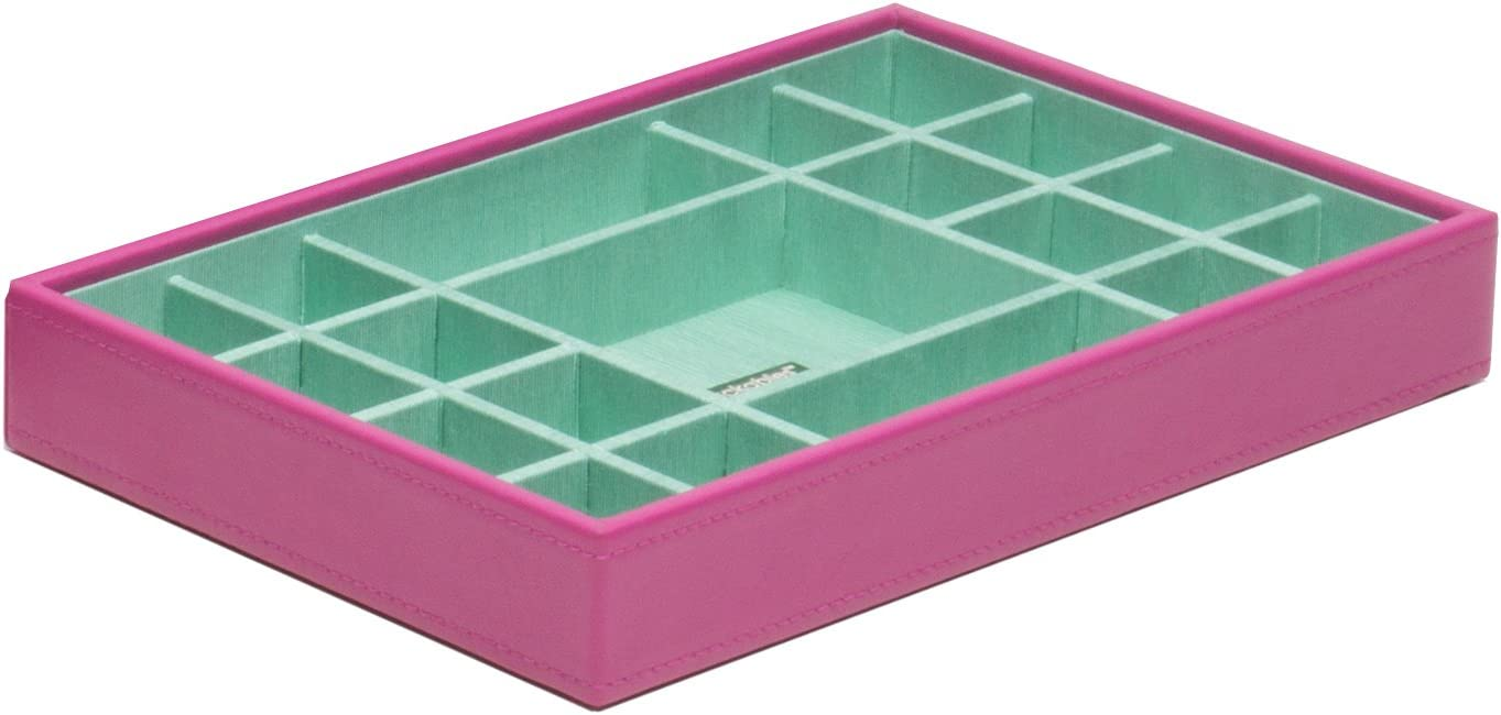 WOLF 318559 Medium Standard Stackable Jewelry Tray, Orchid