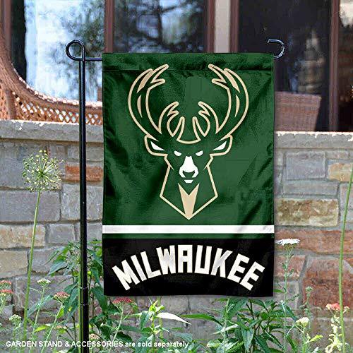 WinCraft Milwaukee Bucks Double Sided Garden - Garden Buck