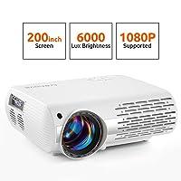 Deals on Crenova 6000 Lux Home Movie Projector XPE660