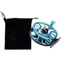 Fly Fishing Reel, Carrete de Pesca con Mosca de Aluminio Ligero Full Metal Izquierda Derecha Mosca Hielo Pesca Carrete Reemplazo