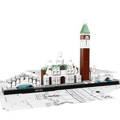 LEGO Architecture Venice 21026 Skyline Building Set: Toys & Games