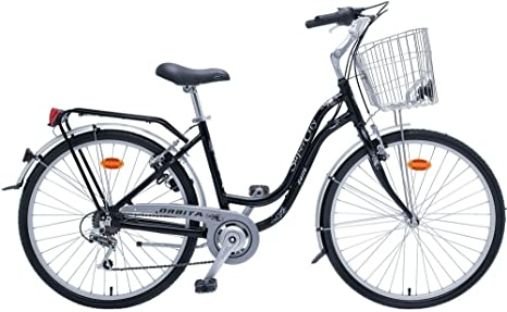 Bicicleta Urbana Orbita Super City 26 M18v: Amazon.es: Deportes y ...