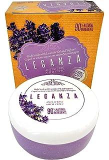 Exfoliante Corporal con Aceite de Lavanda y Yogurt, Leganza Anti Estrés