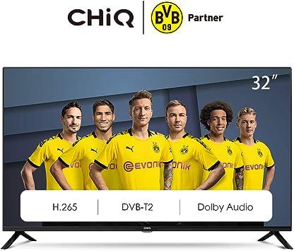 CHiQ L32G4500 LED TV, HD, Televisor 32 Pulgadas, Sintonizador ...