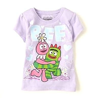 a12a0909 Amazon.com: Yo Gabba Gabba BFF Purple Short Sleeve T Shirt Tee ...
