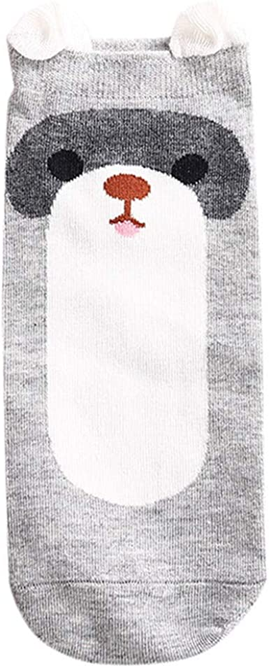 Tosonse Calcetines De Algodón De Hombre Casual Para Mujer Calcetines De Animación De Oreja Animal Calcetines De Mujer Calcetines Lindos Y Lindos Calcetín De Regalo: Amazon.es: Ropa y accesorios