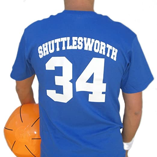 24e95aff5a66 Image Unavailable. Image not available for. Color  Jesus Shuttlesworth Lincoln  Jersey Shirt He Got Game ...