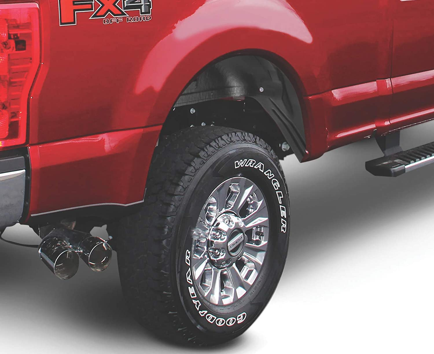 WWC011HD will not fit dually fits 11-13 Chevy 2500 // 3500 Series HD Rugged Liner Rear Wheel Well Liners All bed sizes