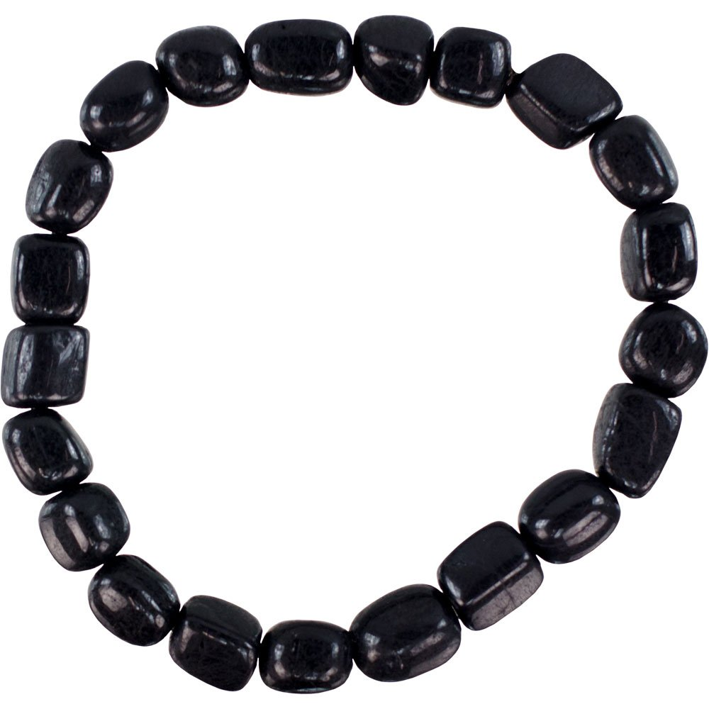 Black Tourmaline Tumbled Stones Bracelet 98258