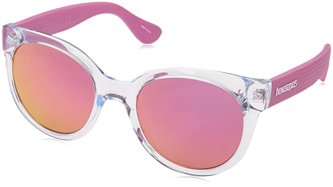 Amazon.com  Havaianas Women s Noronha m Round Sunglasses CRY LILAC ... 2936d0a746e5