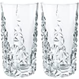 Nachtmann Sculpture Long Drink Glass, Set of 2 by Nachtmann - The Life Style Division of Riedel Glass Works