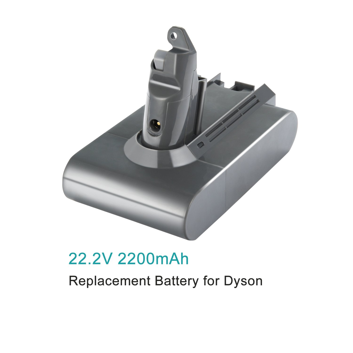 efluky 21.6V 2200mAh Replacement Battery for Dyson V6 DC58 DC59 DC61 DC62 Animal Handheld Li-ion Battery by efluky (Image #2)