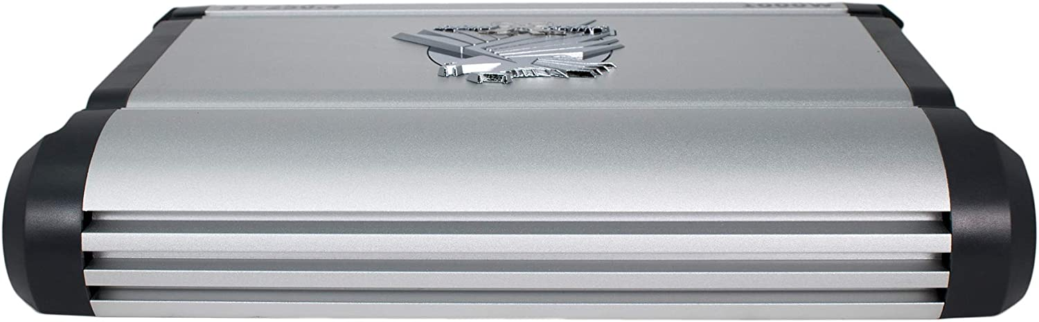SoundXtreme ST-750.2 Two Channel Amplifier 2 Ohm Stable 1500W w// Remote Subwoofer Level Control