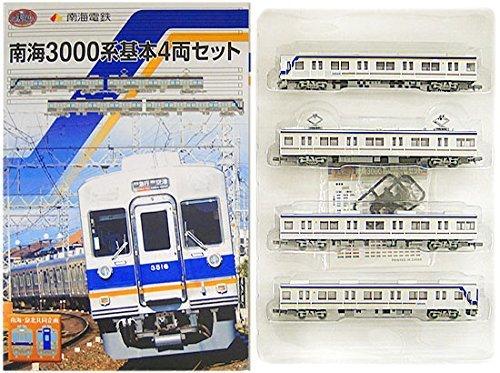 【限定】鉄道コレクション南海3000系基本4両セット【南海3000基】   B01LH3TUUO