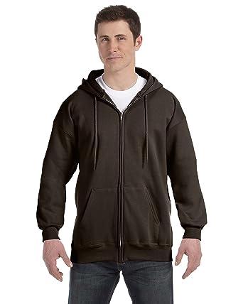 427068c9513 Hanes Men s Full Zip Ultimate Heavyweight Fleece Hoodie  Amazon.ca ...
