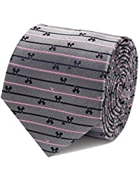 "<span class=""a-offscreen"">[Sponsored]</span>Mens Mickey Mouse Tie Grey Striped"