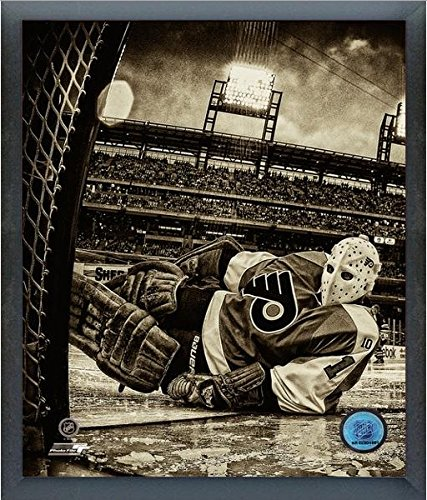 Philadelphia Flyers Photo File (Bernie Parent Philadelphia Flyers Winter Classic Alumni Game Action Photo (Size: 17