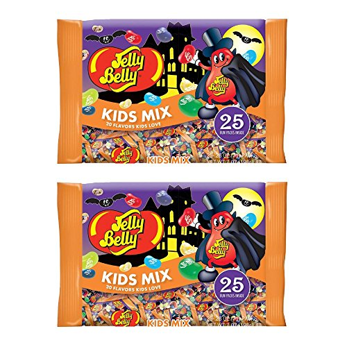 Jelly Belly Kids Mix Halloween Candy Set of Two 7 ounce 198g