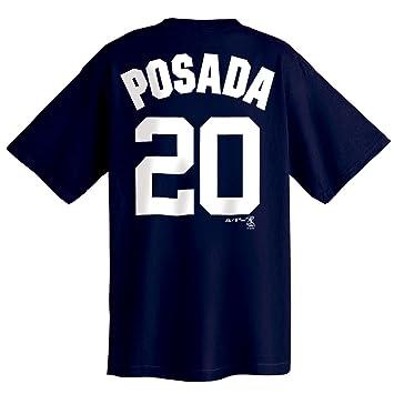 ... Jorge Posada New York Yankees Name and Number T-Shirt (Medium) ... 253dbf7c90c