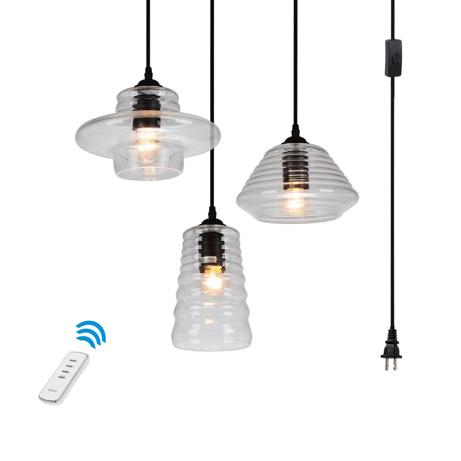 3 light portable hanging plug in vintage pendant black swag hooks 3 light portable hanging plug in vintage pendant black swag hooks ceiling lamp aloadofball Choice Image