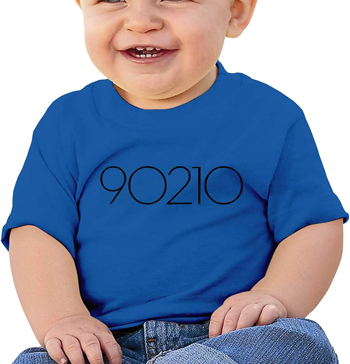 90/_210 TV Series Tee Personalized Short-Sleeve T Shirts for Baby Boy Black LIIREN Bever/_ly HIL/_ls