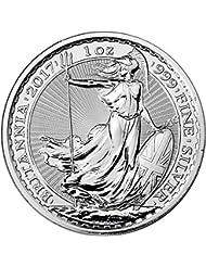 2017 UK Great Britain Silver Britannia 1 oz Brilliant Uncirculated Royal Mint