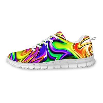 FOR U DESIGNS Stylish Women's Fashion Sneaker Cross-Training Running Shoes US 6