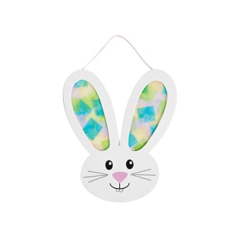 Amazon Easter Bunny Tissue Paper Craft Kit Makes 12 Arts