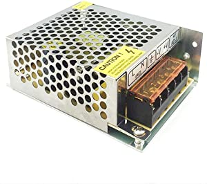 5V Power Supply,PHEVOS 5v 7A Dc Universal Switching Power Supply for Raspberry PI Models,CCTV, Radio, Computer Project,WS2812B WS2811 WS2801 APA102 LED Strips Pixel Lights (5V7A)