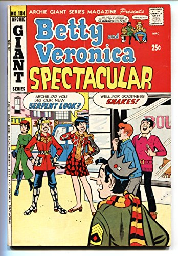 Archie Giant Series #184 1971- Betty & Veronica Spectacular FN