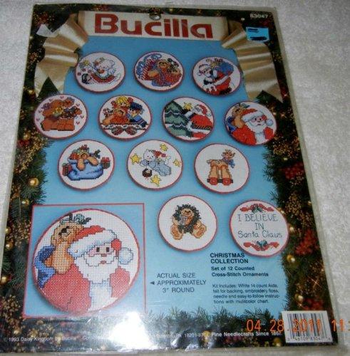 Bucilla Christmas Collage 83047 by Bucilla