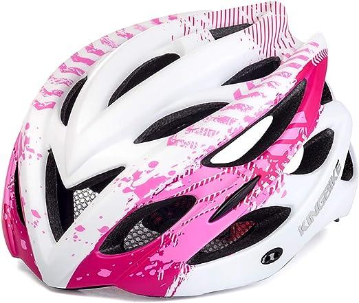 John-L Casco Bicicleta Mujer, Casco De Bicicleta De Montaña ...