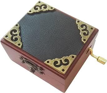 FnLy Caja Musical de Madera con 18 Notas de Encaje, Caja de Regalo ...
