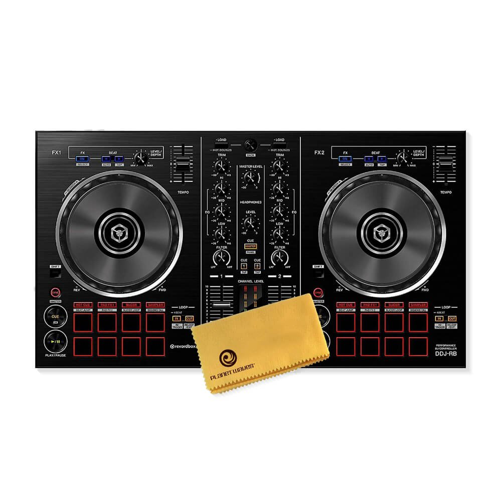Pioneer DJ DDJ-RB Portable 2-channel Controller for rekordbox dj Pioneer Pro DJ