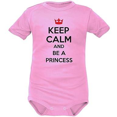 Body Naissance   Keep Calm and BE A Princess  Amazon.fr  Vêtements ... d37e7a8d9ec