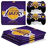 Cheap GoldenDeal PS4 Pro Console and DualShock 4 Controller Skin Set – Basketball NBA LA – PlayStation 4 Pro Vinyl