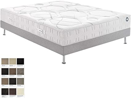 Conjunto de colchón Bultex I-Novo 9200 con somier de Confort ...